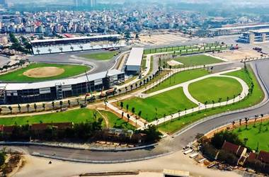new Formular 1 race track in Vietnam